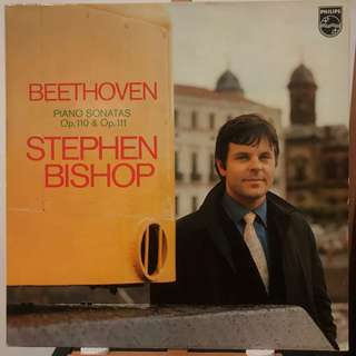 Stephen Bishop plays Beethoven Piano Sonatas Ops.110 & 111 PHILIPS 6500764