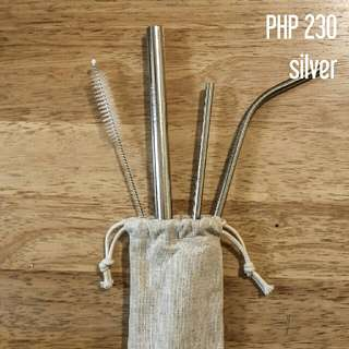 REUSABLE ECO-FRIENDLY STAINLESS STRAW
