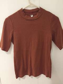 Uniqlo high neck top