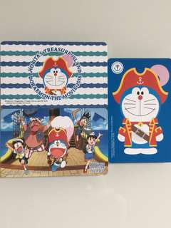 Limited Edition brand new Doraemon The Movie 2018 Nobita's Treasure Island Designs ezlink Cards for $12 EACH or only $33 as a set of 3.