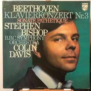 Stephen Bishop plays Beethoven Piano Concerto 3 & Pathetique PHILIPS 6500315