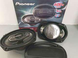 "Pioneer TS-A6695R 600Watt 5way 6x9""inch"