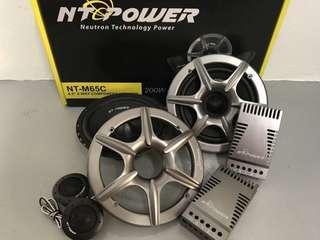 NT Power M65C 2-way component set