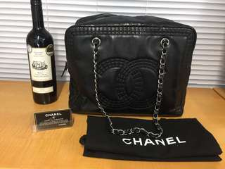 Chanel bag Authentic lamb skin tote 有咭有貼