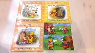 Bundle of 3 Brand New Winnie the Pooh Storybooks
