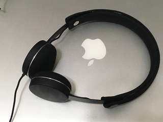 Urbanears 可清洗 headphone humlan 瑞典 黑色耳機