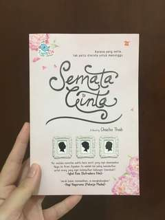 Novel Semata Cinta (novel LDR)