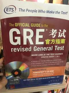 GRE OFFICIAL GUIDE