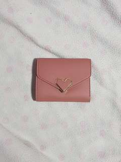 Small Handy Wallet - Old Rose