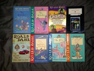 Roald Dahl Novels for SALE