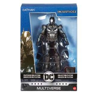 """預訂全新金屬製 正義聯盟蝙蝠俠 Injustice DC Multiverse Justice League Batman Diecast 6"""" figure"""