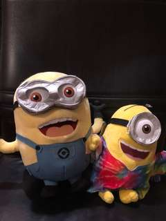 Minions Stuffed Toys from Universal Studios