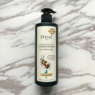 🚚 A'kin Unscented Very Gentle Conditioner (500ml)