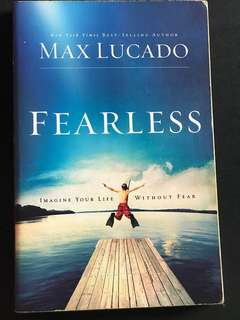 🚚 Fearless by Max Lucado
