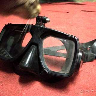 Snorkling goggles for action cam or gopro