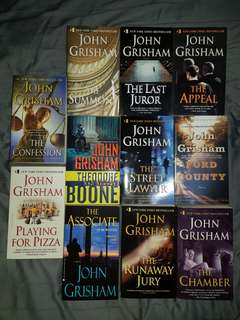 John Grisham Novels for SALE