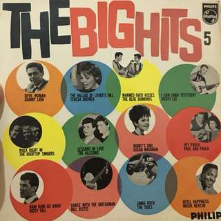 English vinyl record Lp