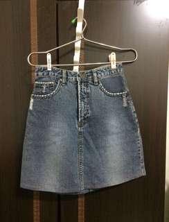 🚚 現貨牛仔短裙