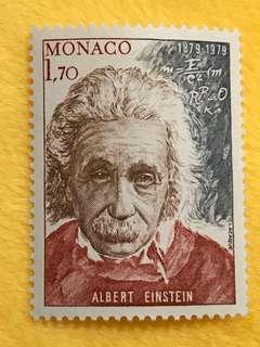 Monaco 愛因斯坦郵票
