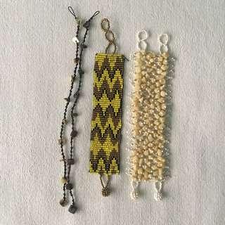 Beach Bracelet and Anklet Set