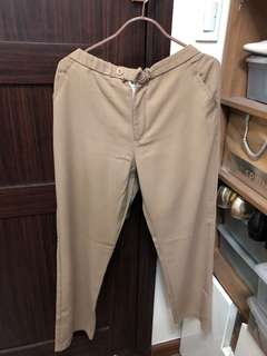 Khaki corporate pants Large