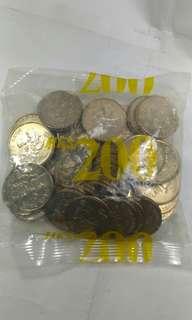 1997年伍圓紀念幣原包
