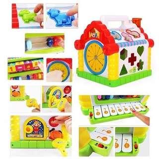 Mainan edukasi anak Funny cottage house