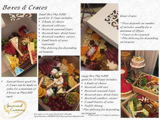 Gourmand Curations Graze Boxes