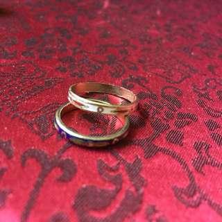 Ethnic Ring (2 pieces) 民族風介指一對