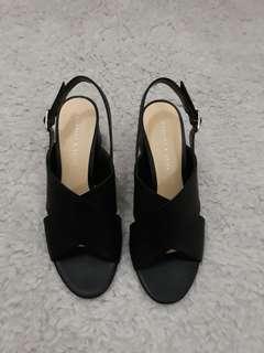 Charles & keith cross-strap sandal