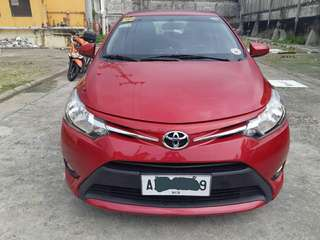 ✔Toyota Vios 1.3 E 2016 Automatic Mica Red