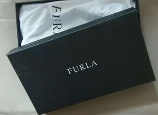 FURLA 名牌紙盒 (長銀包)