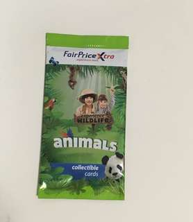 FairPrice Xtra animal card