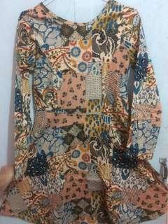 dress batik , untuk kerja, pernihakan dll