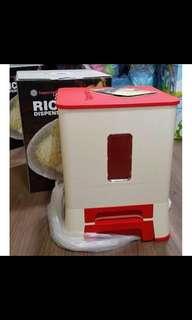 Tupperware Rice Dispenser red (1)