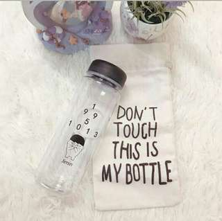 BTS JIMIN BOTTLE