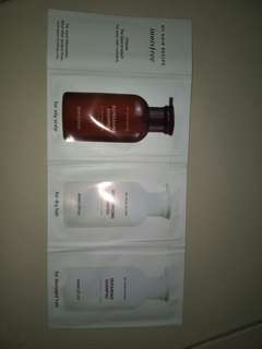 Innisfree shampoo sample