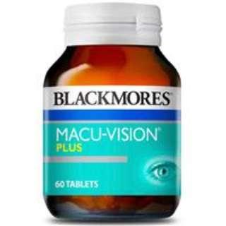 Blackmores澳佳寶護眼寧加強版60片 抗氧化抗疲勞緩解眼疲勞