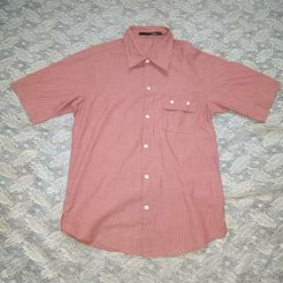 Pink Formal Polo