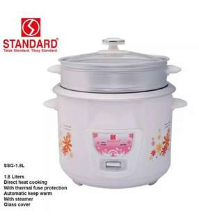 Steamer Rice Cooker in 1 Standard SSG 1.8L