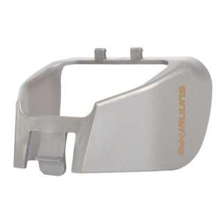 RC706 ($30/1件,$55/2件,$75/3件) 最後一件 相機鏡頭遮光罩遮蓋式Snap-On PTZ帽防護防眩光保護器適用於DJI MAVIC PRO無人機銀色