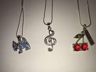 Jewelled Necklaces