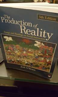 The Production of Reality 5th Edition