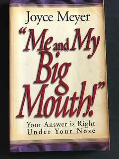 🚚 Me & my big mouth by Joyce Meyer