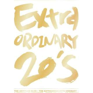 [PHOTO BOOK] BigBang 1st Photograph Collection Repackage : Extraordinary 20s [Poster ver]