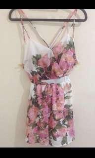 Floral Dress | Size S-M