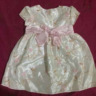 Preloved Infant gown