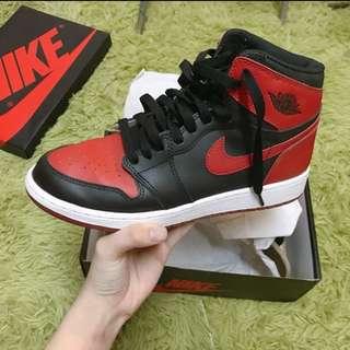 🚚 Jordan 1代 黑頭