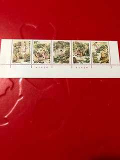 中國郵票2002-23
