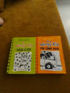 AS PACK!Diary of a wimpy kid.(the long haul).(hard luck)